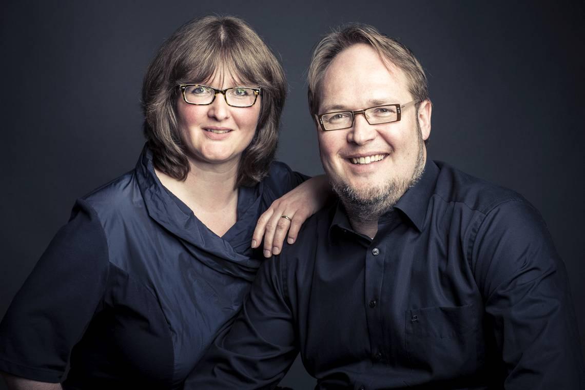 Foto von Anne Weckeßer und Christian Sprenger