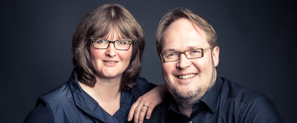 Prof. Christian Sprenger und Anne Weckeßer